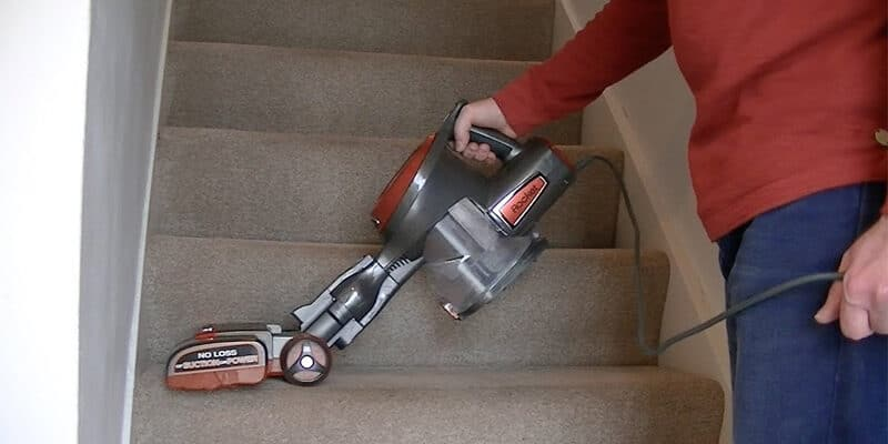 best handheld vacuum for stairs and pet hair
